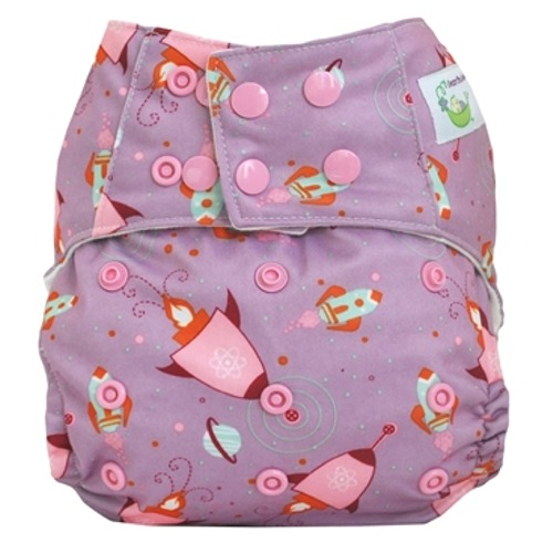 Sweet Pea Stem Diaper- Lucy