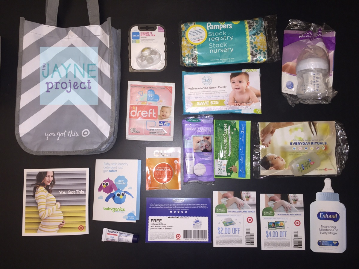 What To Expect Target Baby Registry Gift Bag 2015 The