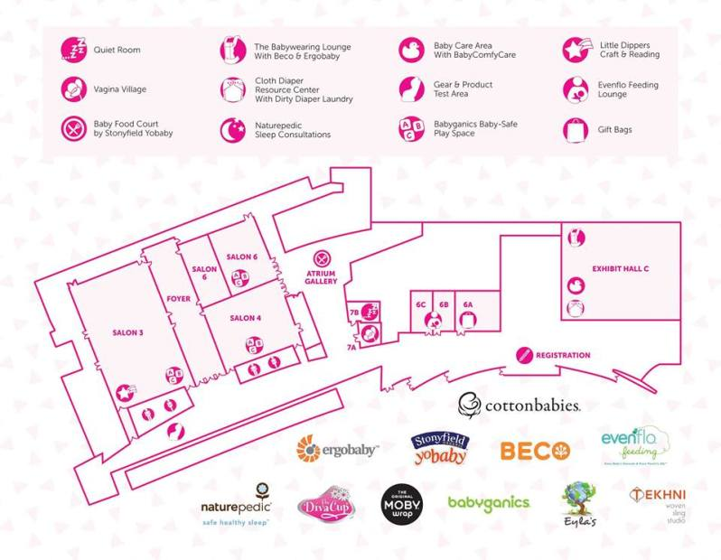 MommyCon ATL Map